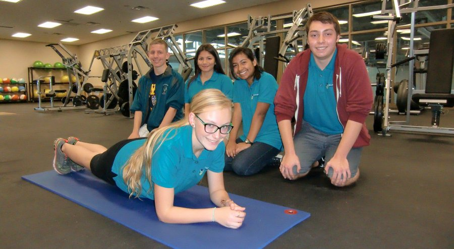 "Del Lago Acadamy Students Push ""Plank"" as Exercise Option to State Fitness Test"