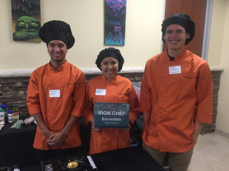 EUHSD Culinary Arts Students Cook