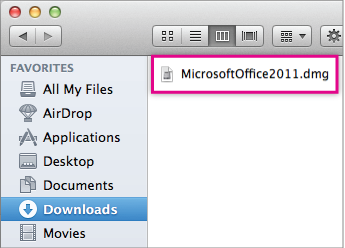 Install Office for Mac - Step 3