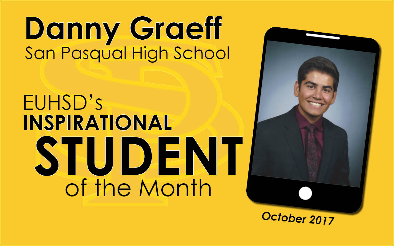 EUHSD Inspirational Student of the Month: Danny Graeff