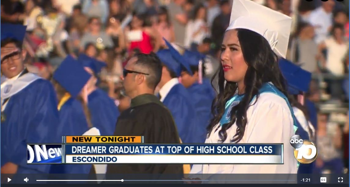 Orange Glen High School Student Graduates Top of Her Class