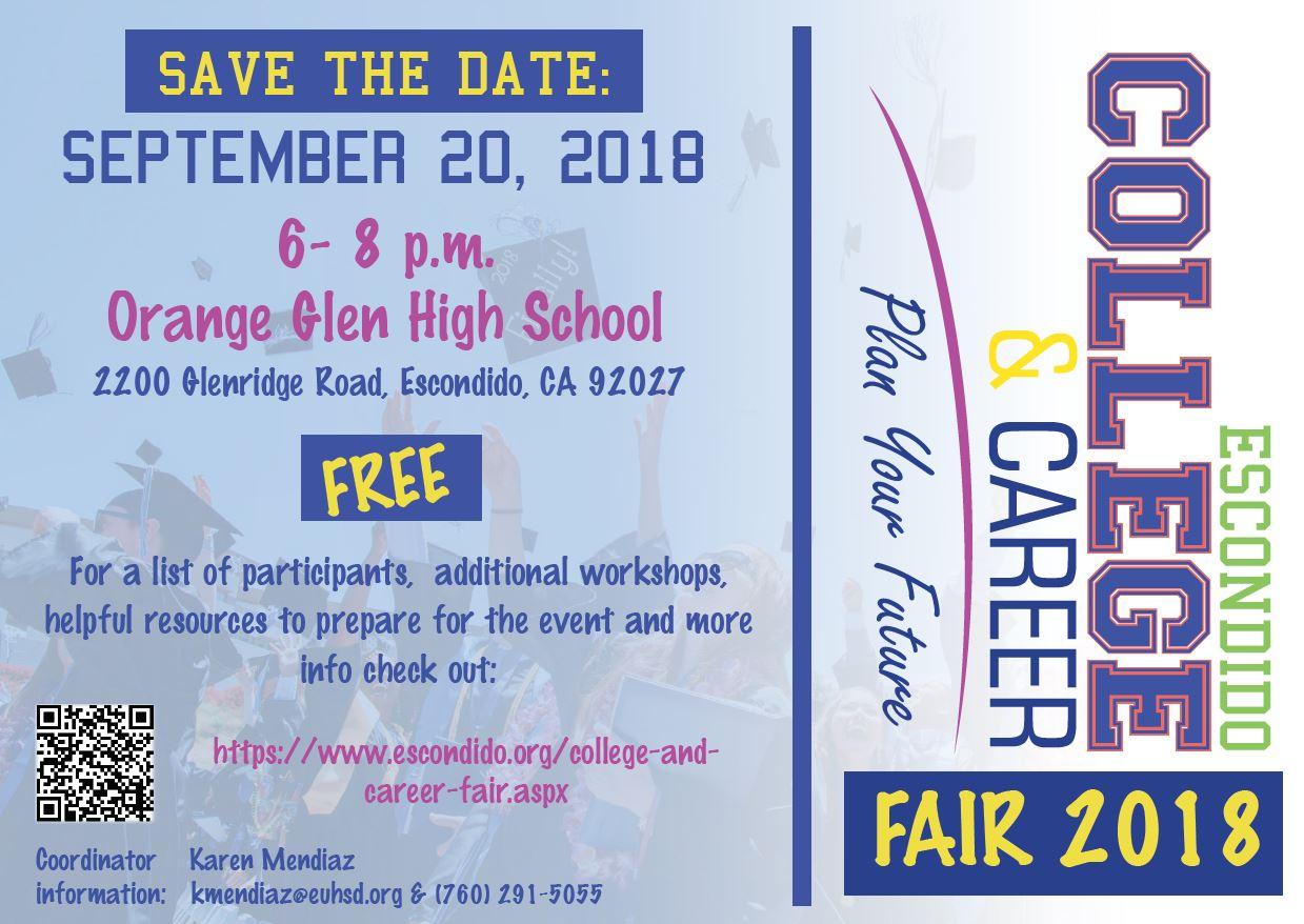 2018 Escondido College and Career Fair