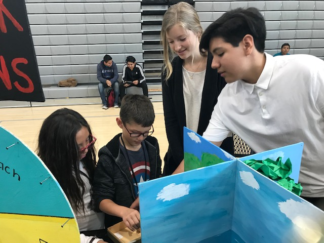 Local High School Scholars Partner with SD Children's Discovery Museum to Create Interactive Science Exhibits for Elementary Students