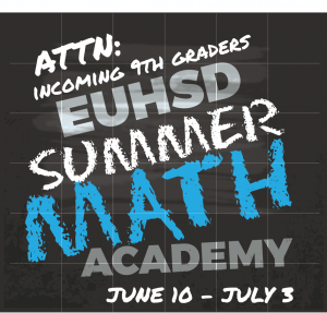 EUHSD Summer Math Academy 2019
