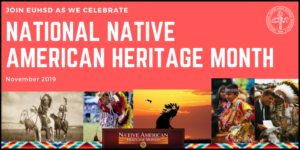 Banner image for National Native American Heritage Month in November