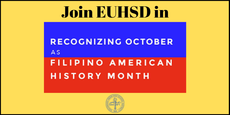 Filipino American History Month – October 1 – 31